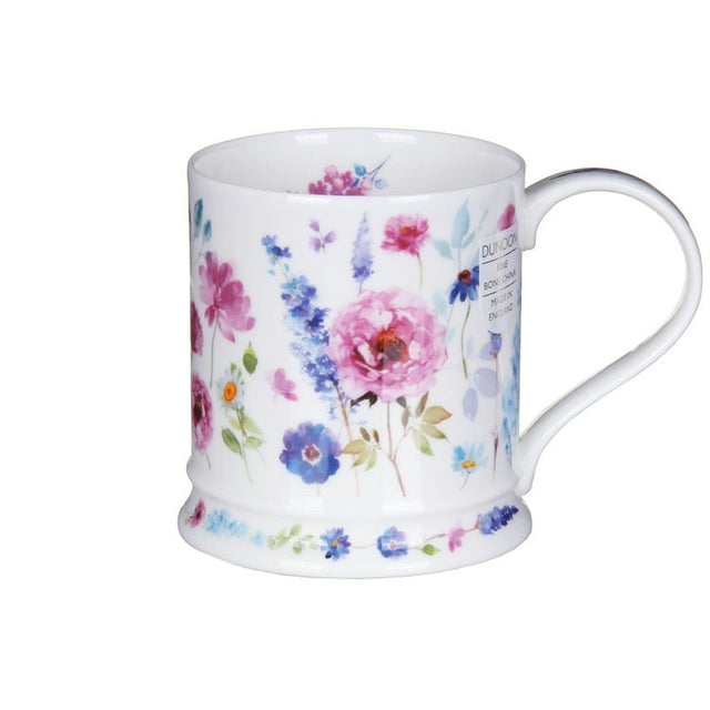 Buy Dunoon Mugs in Canada Iona Wild Garden Rose Fine Bone China Red Scarf Equestrian