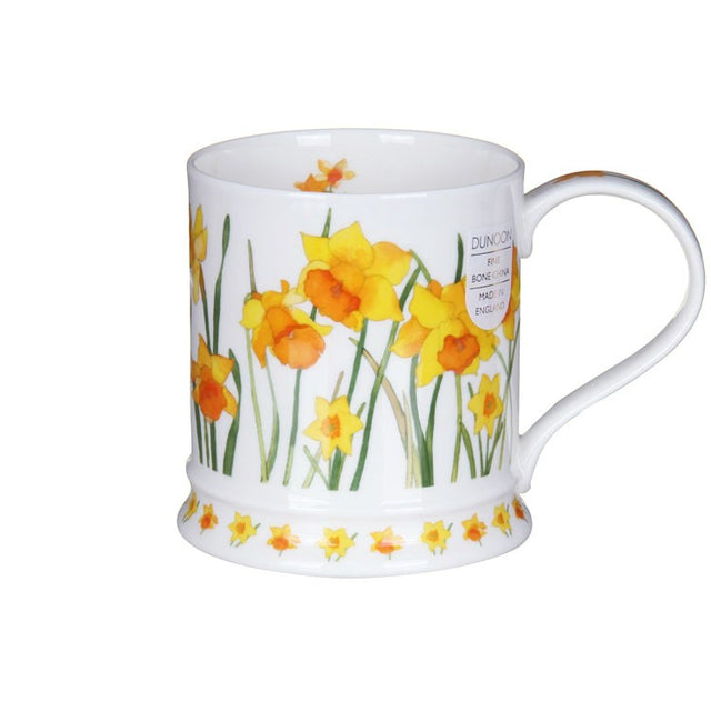 Buy Dunoon Mugs in Canada Iona Wild Garden Daffodils Fine Bone China Red Scarf Equestrian
