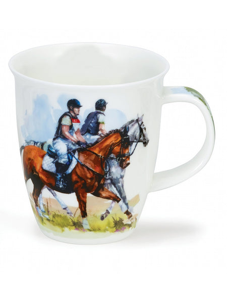 Dunoon Fine Bone China Mugs:  Sporting Life Riding
