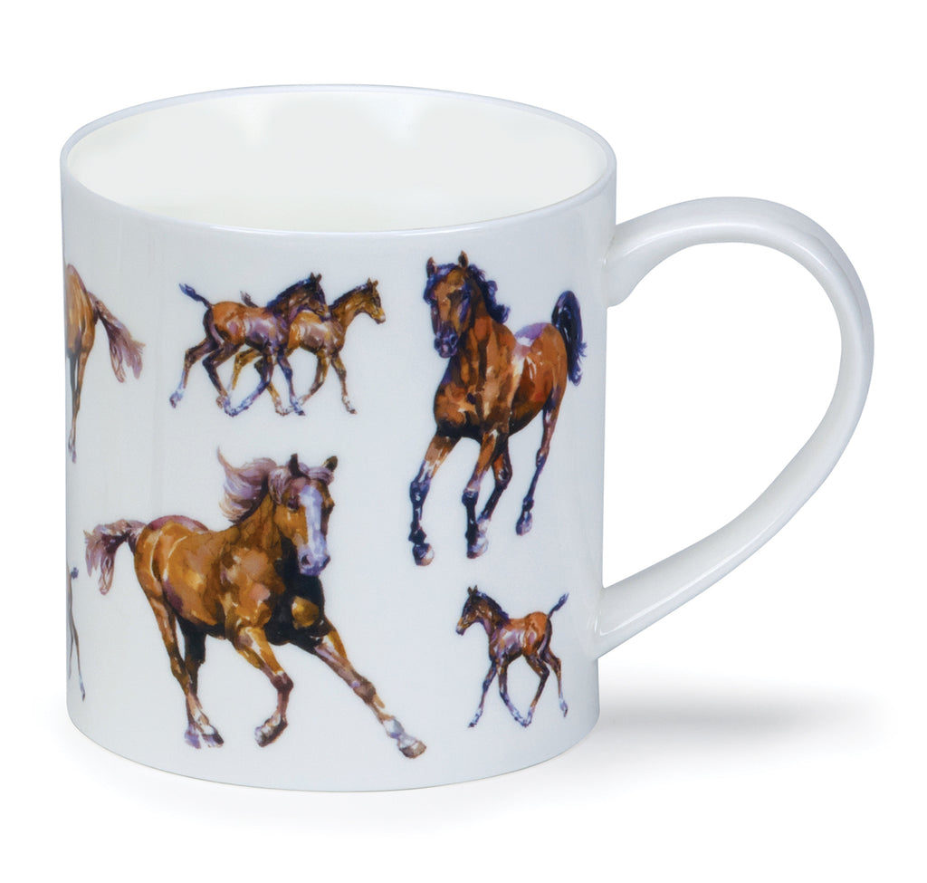 Dunoon Mugs - Orkney Country Life Mares & Foals