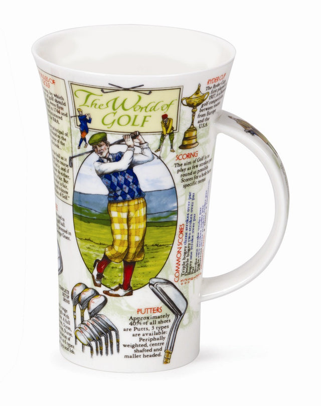 Buy Dunoon Mugs in Canada Glencoe World of Golf Fine Bone China Made in England Tea Coffee Red Scarf Equestrian