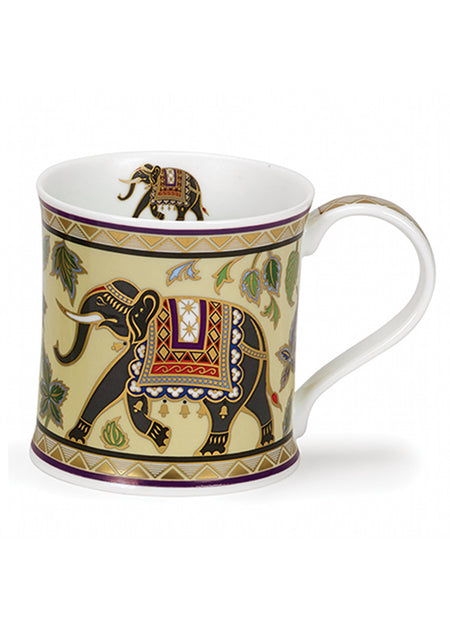 Dunoon Fine Bone China Mug:  Arabia Elephant