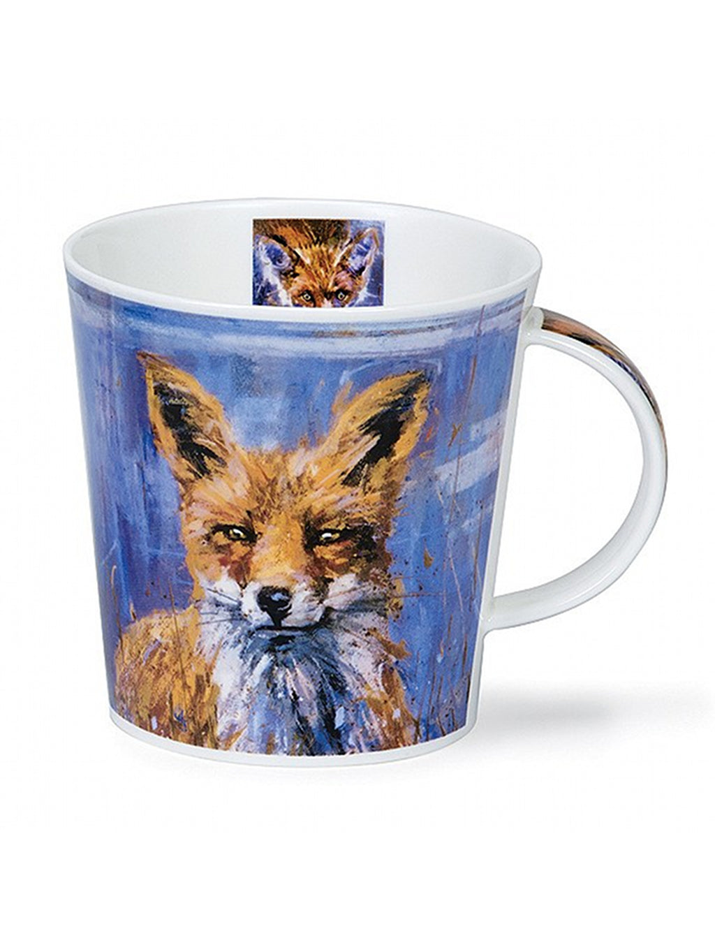 Buy Dunoon Mugs in Canada Cairngorm Animal in Art Fox Fine Bone China Made in England Tea Coffee Red Scarf Equestrian