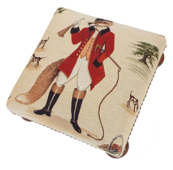 Freddie Fox Tapestry Foot Stool