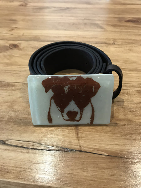 Bully the Dog Buckle & Belt