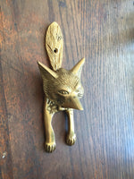 Load image into Gallery viewer, Brass Door Knocker (Horse or Fox)