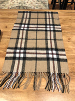 Load image into Gallery viewer, Tartan Lambswool Scarf and Glove Set - Thomson Camel