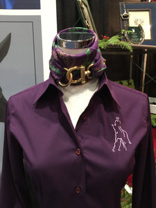 Quintessential Solid Shirt Eggplant (Purple)
