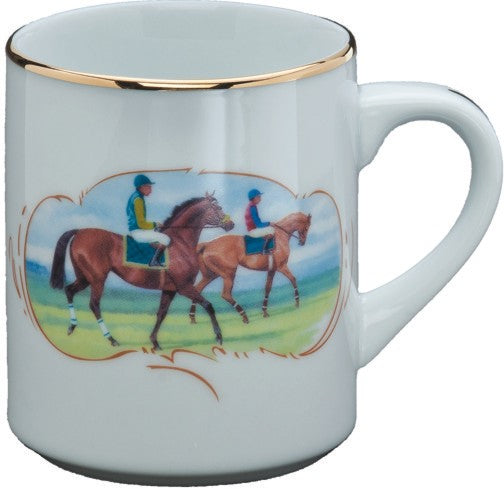 Post Parade Porcelain Mug