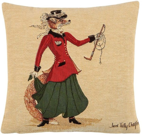 Fenella Fox Tapestry Cushion – Small