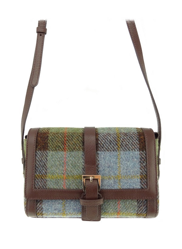 Harris Tweed Leather Mini Bag