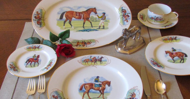 Post Parade Collection – 5 Piece Place Setting