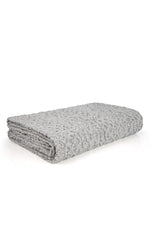Load image into Gallery viewer, Luxe Aran Cashmere Throw – Duck Egg