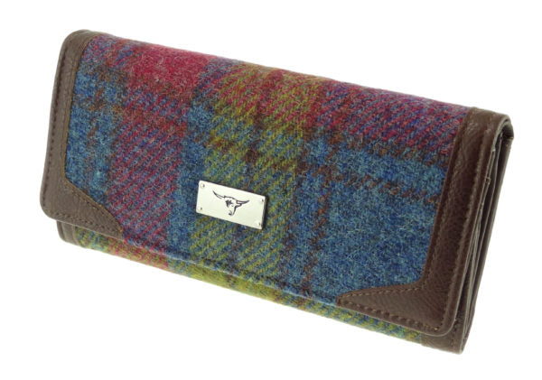Harris Tweed Multi Colour Bute Wallet