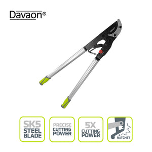 Davaon Pro 2-in-1 Ratchet Loppers