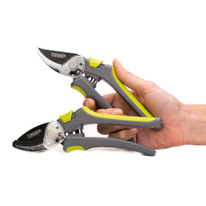 Davaon Pro Set of 2 Secateurs - Bypass & Anvil