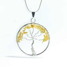 Load image into Gallery viewer, Tree of Life Pendant ~ Large Citrine - maka chaska