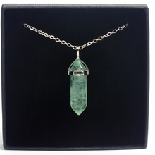 Load image into Gallery viewer, Point Pendant ~ Fluorite - maka chaska