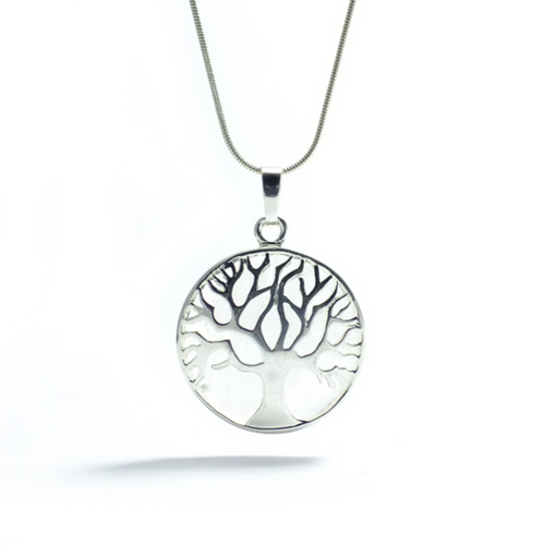 Tree of Life Pendant ~ Quartz - maka chaska