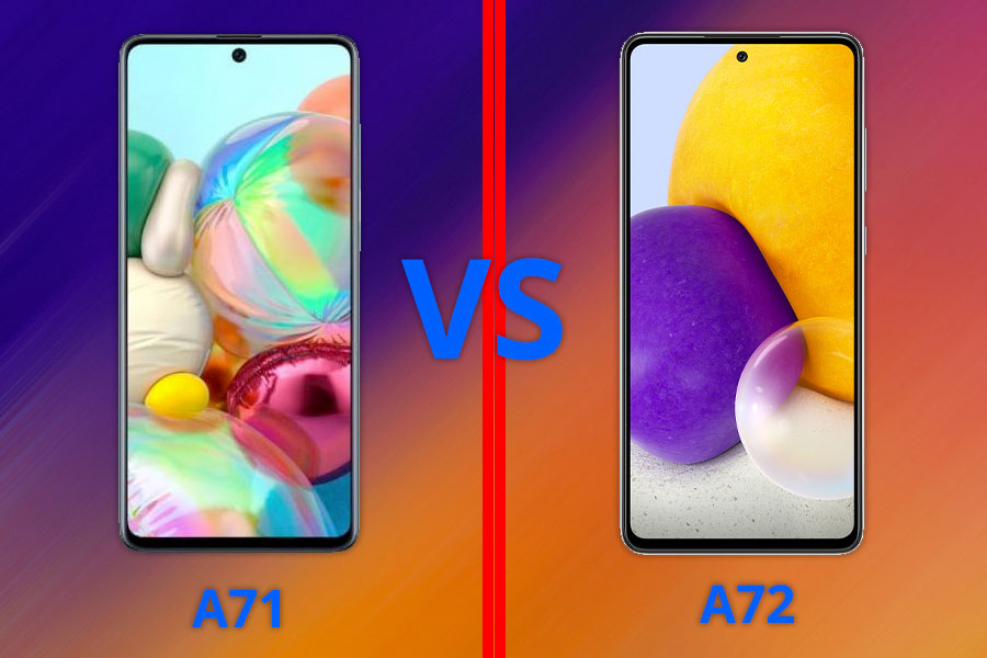 What's the difference? Samsung Galaxy A71 vs Samsung Galaxy A72