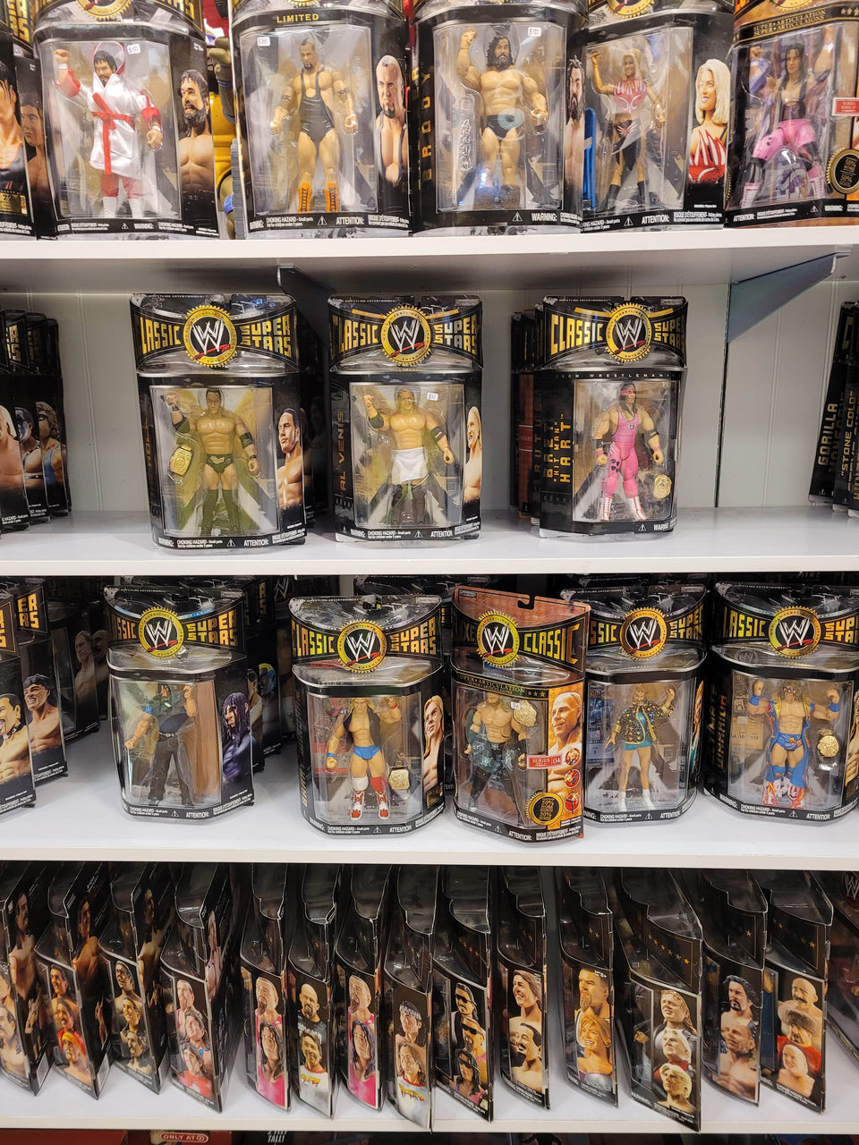WWE Retro Figures