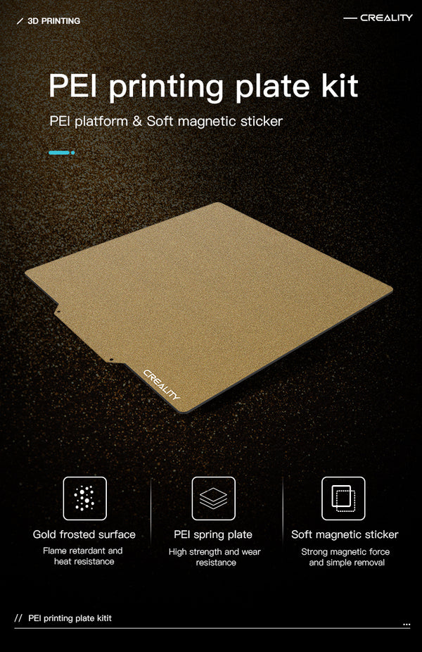 PEI Printing Plate Kit 235*235*2mm Frosted Surface