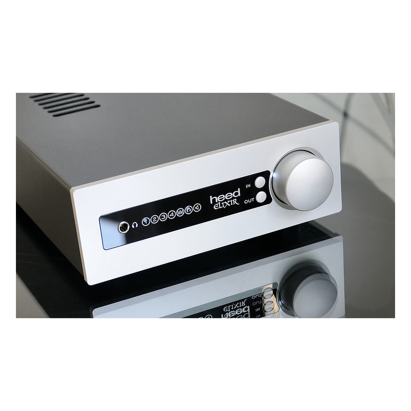 Heed Audio Elixir Integrated Amplifier Silver