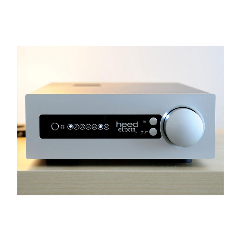 Heed Audio Elixir Integrated Amplifier Silver Front