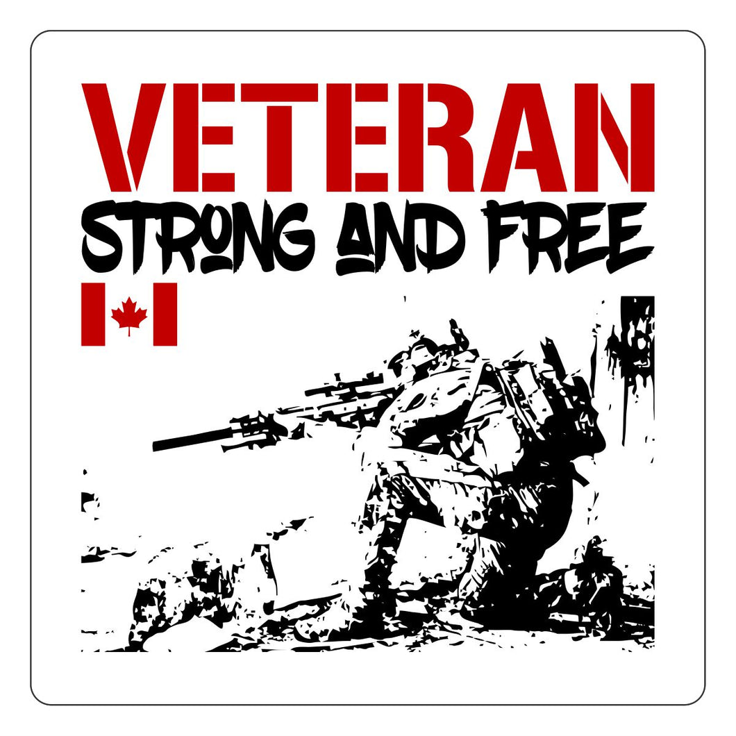 Strong and Free Stickers - Special Operations