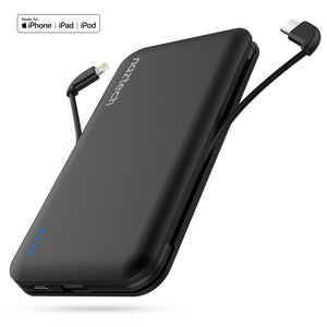 10000mAh Lightning + USB-C Power Bank