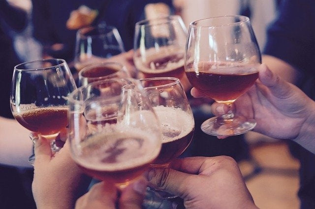 Drink alcohol in moderation