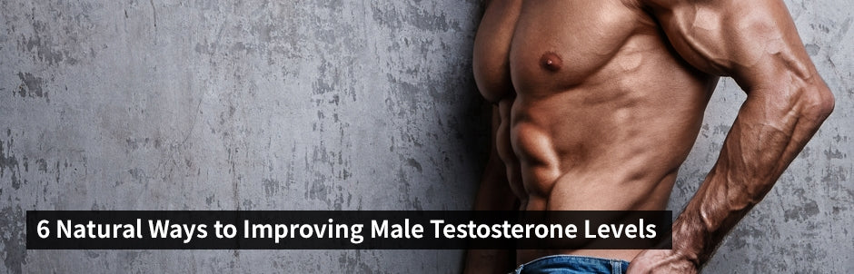 6 Natural Ways to Improving Male Testosterone Levels