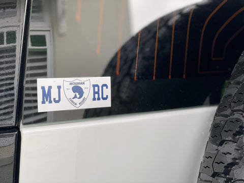 MJRC Car Sticker