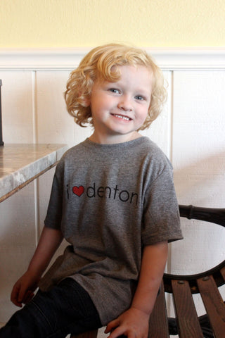 I Heart Denton T-Shirt Child's