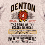 Denton Golden Triangle T-Shirt