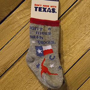 Don't Mess With Texas Baby Socks