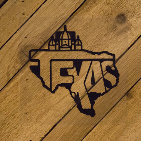 Texas State Decal