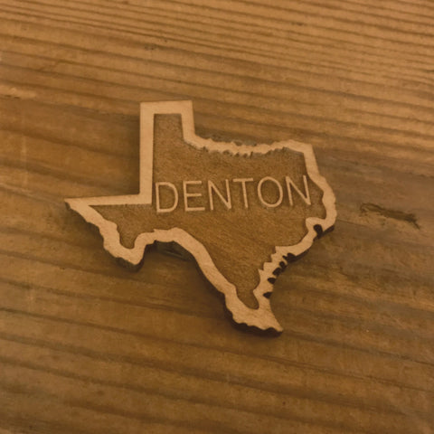 Denton Wood Magnet
