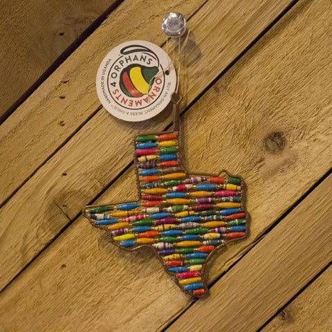 Texas Bead Ornament