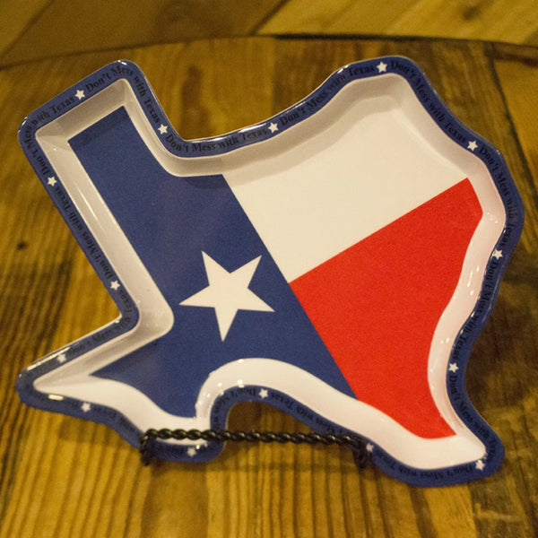 Texas Shaped Plate