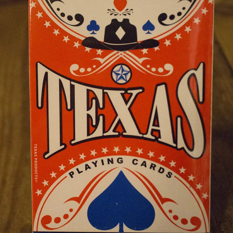 Texas Sized Playing Cards