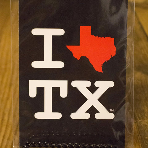 I Heart Texas Postcard