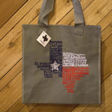 Texas Cities Tote - NEEDS BARCODE/PRICE/INVENTORY