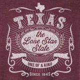 Lone Star State T-Shirt (Red)