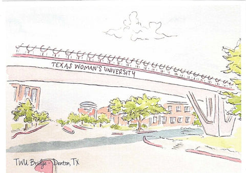 TWU Bridge Print