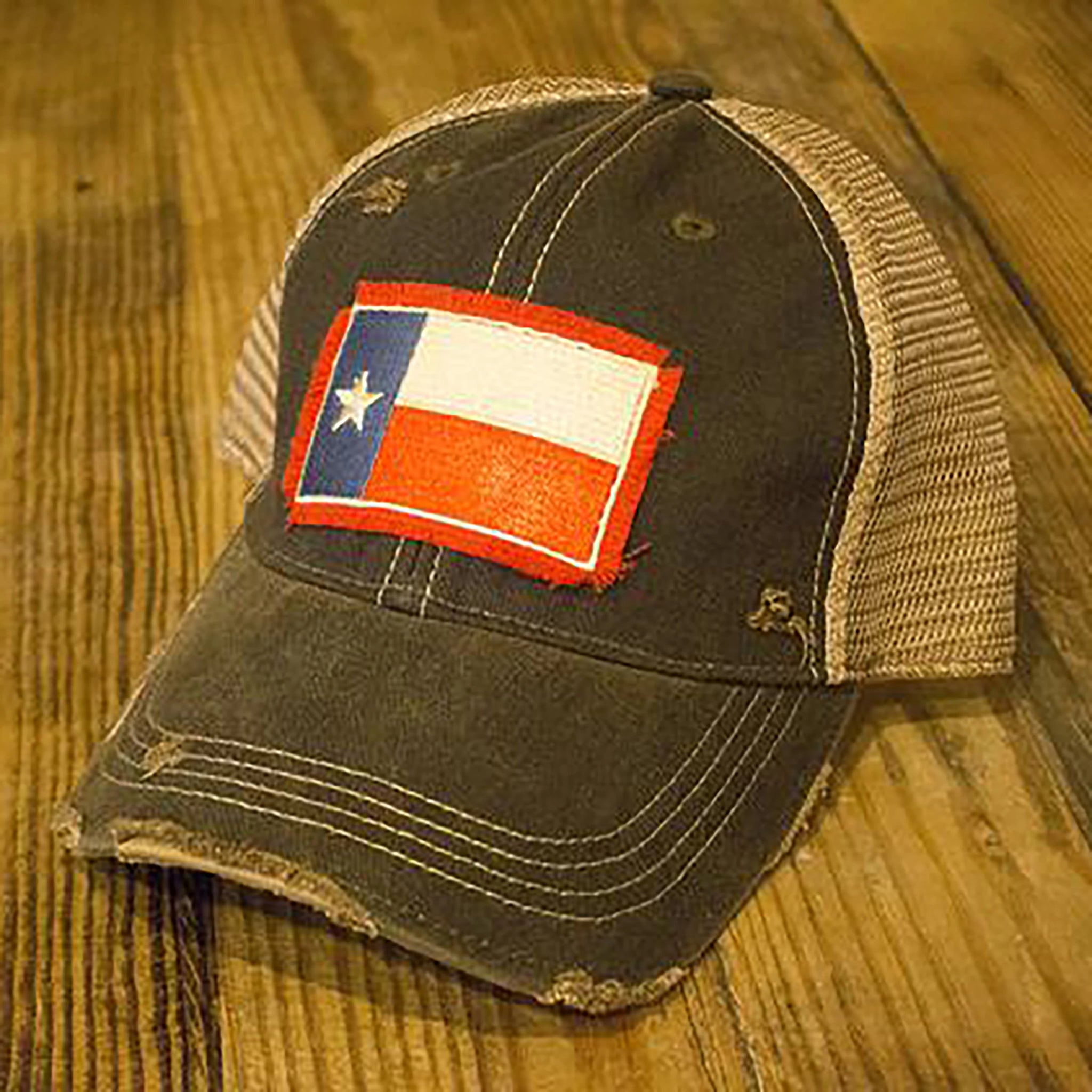 Red Texas Flag Hat