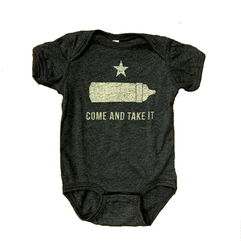 Come And Take It Onesie