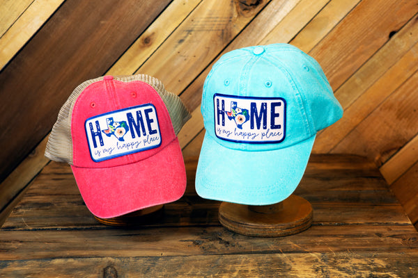 Home Is My Happy Place Hat (Red)