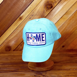 Home Is My Happy Place Hat (Blue)