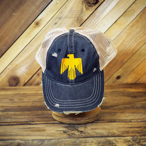 Free Bird Denim Hat